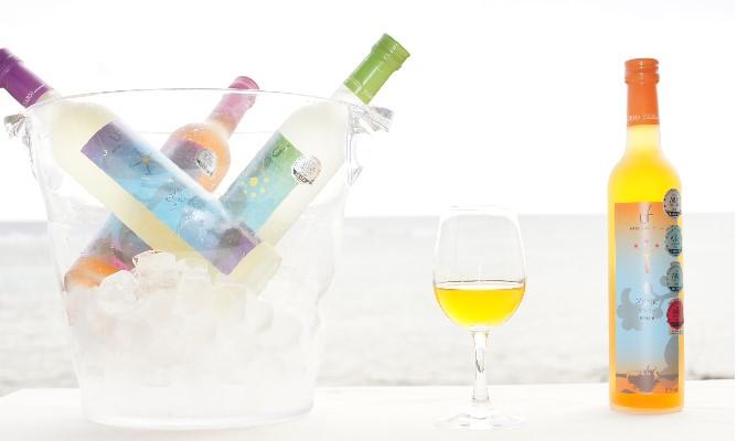 うちなーファーム 南国フルーツワイン4本セット(シークワーサー・パッションフルーツ・アセロラ・マンゴー)