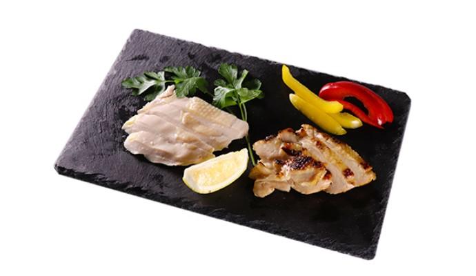 越後ワイン 雪季 赤/にいがた地鶏手羽正肉塩糀漬・にいがた地鶏サラダチキン