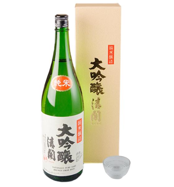 渡邊佐平商店 純米大吟醸清開1.8L