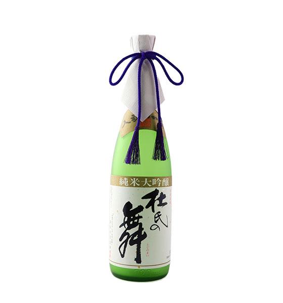 藤居本家 杜氏の舞純米大吟醸/近江牛しゃぶしゃぶモモ
