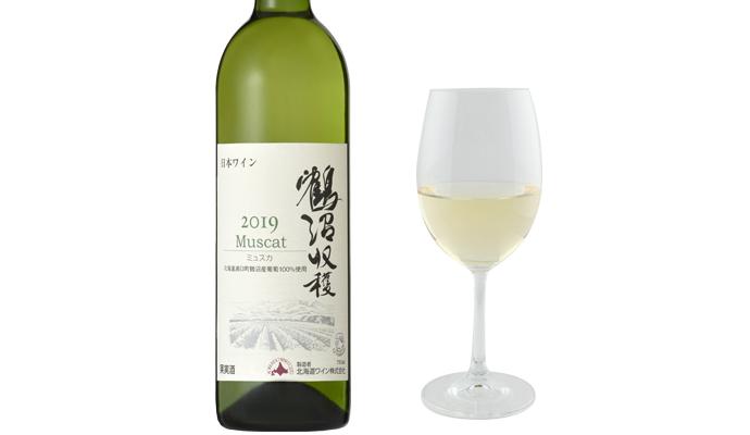 北海道ワイン 鶴沼ミュスカ/カチョカバロ・ナチュラルチーズ槲(かしわ)