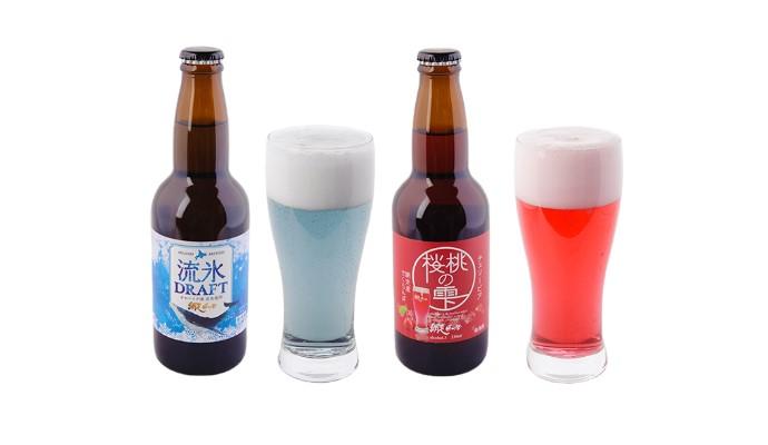 網走ビール 6本セット(発泡酒)流氷ドラフト・桜桃の雫