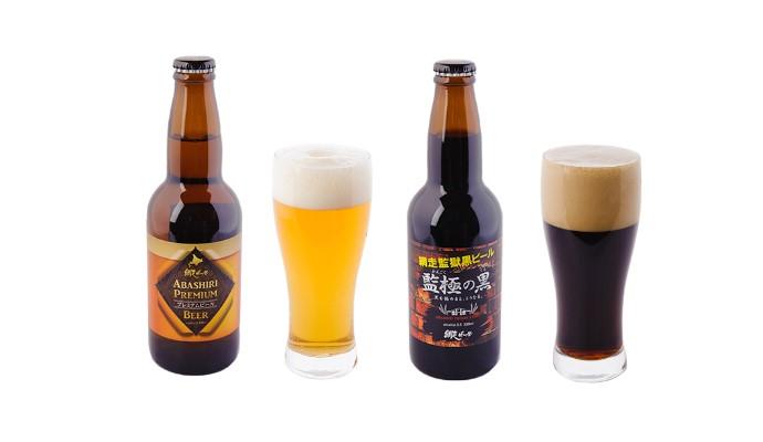 網走ビール 6本セット(ビール)ABASHIRIプレミアム・監極の黒