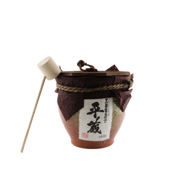 櫻乃峰酒造 黒麹平蔵(甕壷入り)
