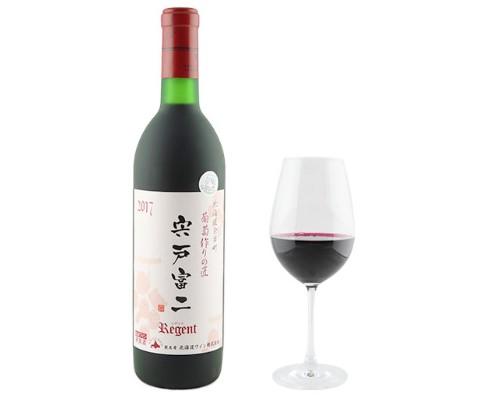 北海道ワイン 葡萄作りの匠 宍戸富二レゲント/ボンレスハム・ロースシンケン