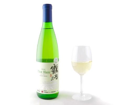北海道ワイン 鶴沼ピノ・ブラン/紅鮭マリネー・いかマリネー・たこマリネー