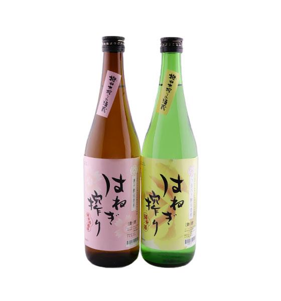 吉田屋 はねぎ搾り2本セット(純米吟醸酒・純米酒)箱入