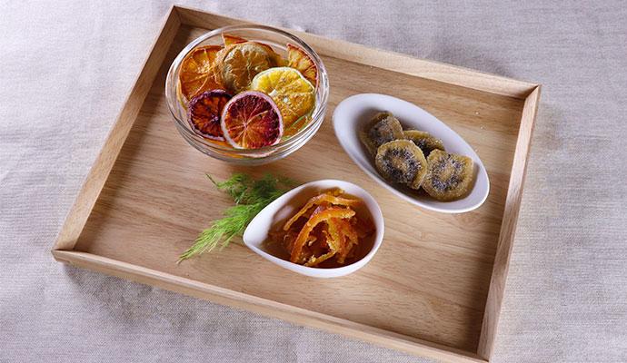 さぬきワイナリー 瀬戸の曙/シトラスチップス・半生干菓子キウイ・いよかんピール