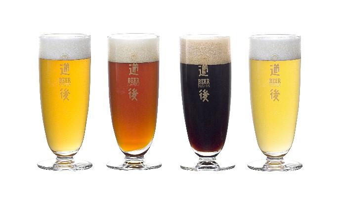 道後ビール(ケルシュ・ヴァイツェン・アルト・スタウト)/城川ウインナーセット