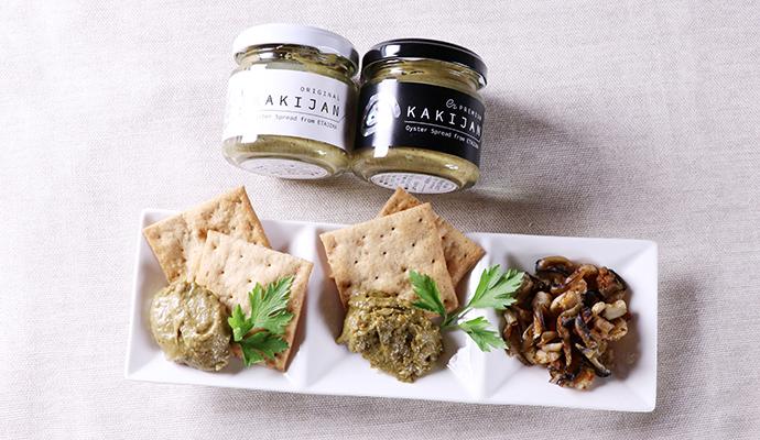 せらワイナリー セラフルールSARALI白/牡蠣リエット&牡蠣ジャーキーセット