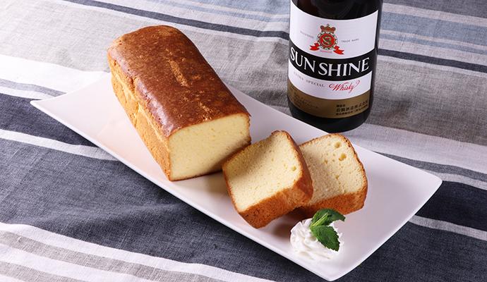 若鶴酒造 サンシャインウイスキー/HARRY CRANES ウイスキーケーキ